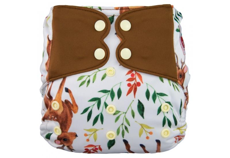 Elf diaper- Hybride- Deer-snap