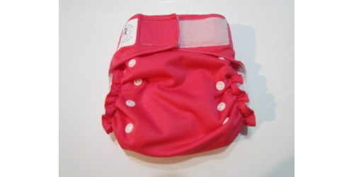 Confection P'tit Bedon-Rose fushia-à poche- Neuve