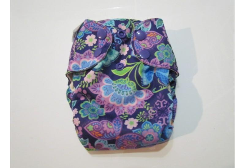 Blueberry simplex nouveau-né- Fleur mauve