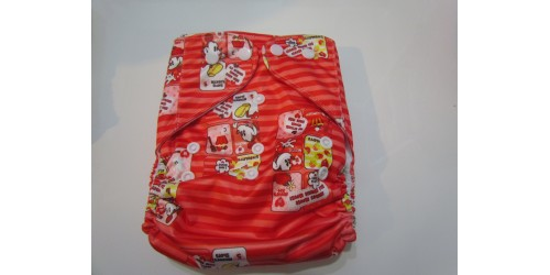 Couche à POCHE Disney-rouge Mickey