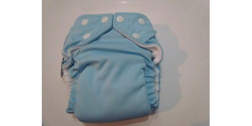 Couche fuzzibunz- bleu pâle-