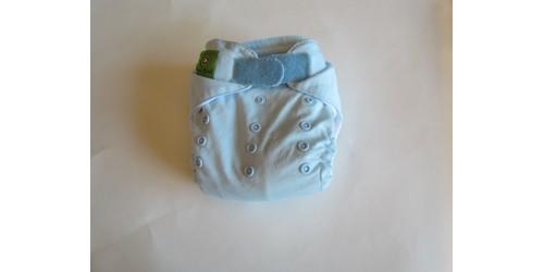 Couche Mini Kiwi à poche- Bleu pâle-Velcro