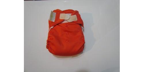 Bumgenius à Poche- orange foncé sassy- velcro