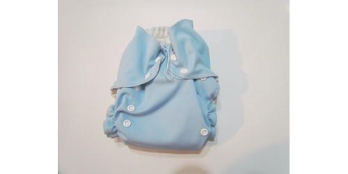 Couche AMP One size -Bleu pâle- Insert un peu tâché