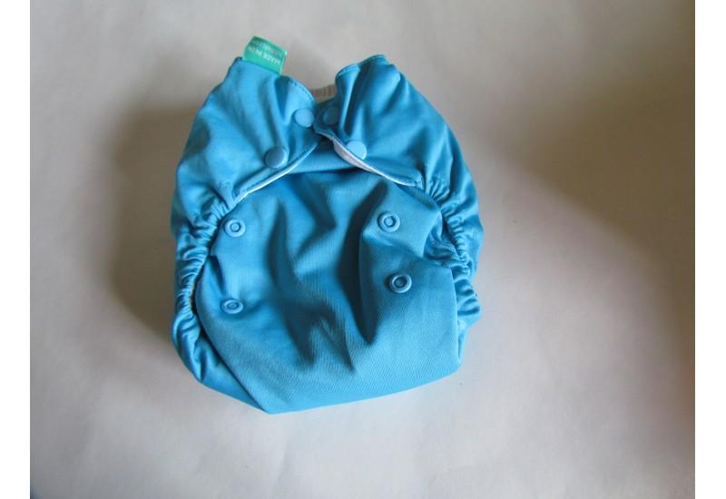 Couche Totsbots easy fit-bleu- Snap- version 3- Comme neuve