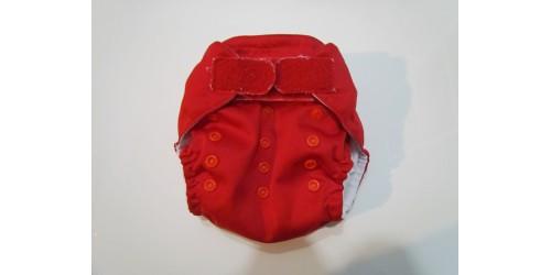 Couche Mini Kiwi à poche- Rouge-Velcro