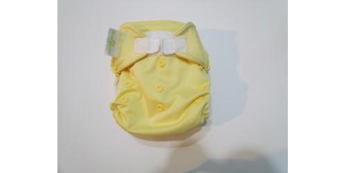 Bumgenius Freetime- jaune-velcro- peu utilisé