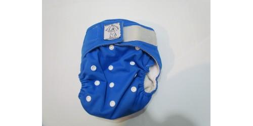 Bic et Biquette TOUT-EN-UN- bleu royal-velcro