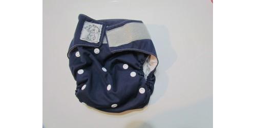 Bic et Biquette tout-en-un- Bleu marin-Velcro