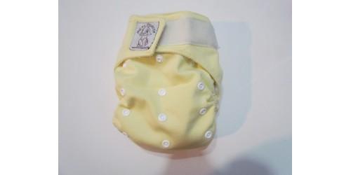 Bic et Biquette TOUT-EN-UN-jaune pâle -velcro
