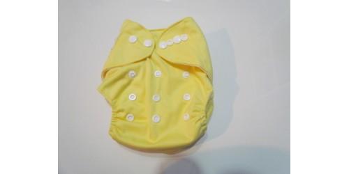 Couche Nouveau-né 6-15 lbs- Pick-a-peck- jaune pâle