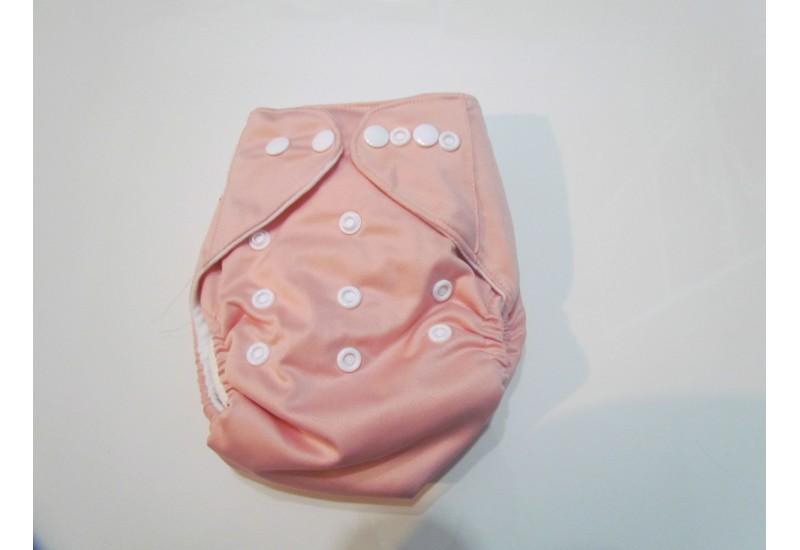 Couche Nouveau-né 6-15 lbs- Pick-a-peck- rose pâle