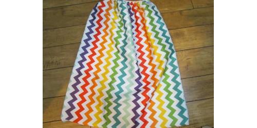 Grand sac pour couches souillées- Chevron multicolor