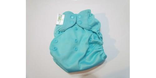 Bumgenius Élémental coton bio- Mirror turquoise