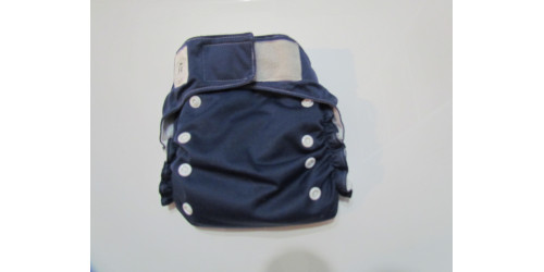 Confection P'tit Bedon-bleu marin-à poche