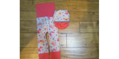 Duo pantalon et couche- papillon