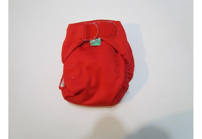 Couche Totsbots easy fit- rouge- Velcro- version 3