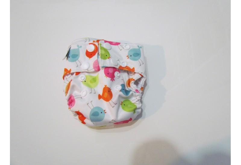 Omaiki nouveau-né-Tout-en-un- Velcro-oiseau