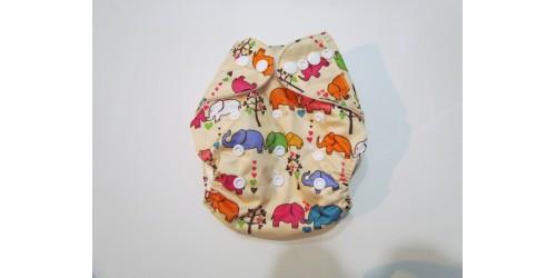 Couche Nouveau-né 6-15 lbs- Pick-a-peck- éléphant