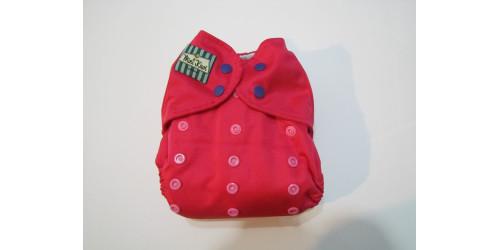 Couche Mini Kiwi à poche -nouvelle génération-fushia-snap