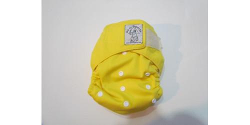 Bic et Biquette TOUT-EN-UN- jaune-velcro