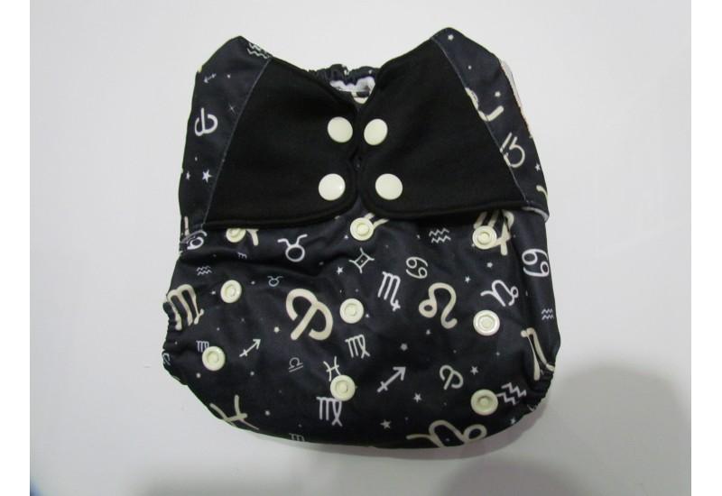 Elf diaper- Couche à poche- horoscope-snap