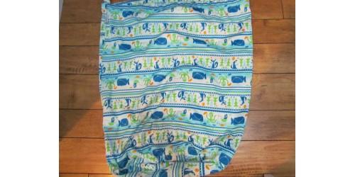 Grand sac pour couches souillées de marque rumparooz- baleine