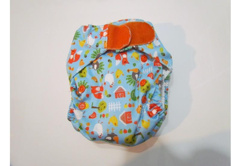 Couche Totsbots easy fit- renard- velcro- version 3