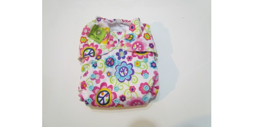 Couche Mini Kiwi à poche - fleur-snap