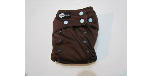 Funky fluff - chocolat