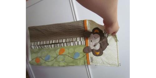 rangement pour couche à suspendre- singe
