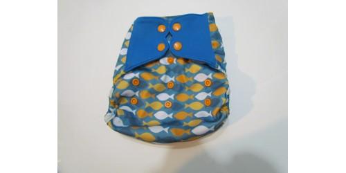 Elf diaper- Couvre-couche (TE2)-poisson