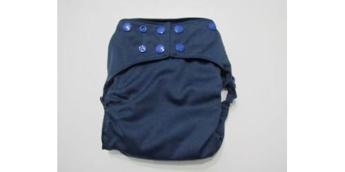 La Petite Ourse- couche tout-en-2- snap-bleu minuit