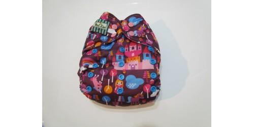 Couche Mini Kiwi à poche -chateau-nouvelle génération-snap