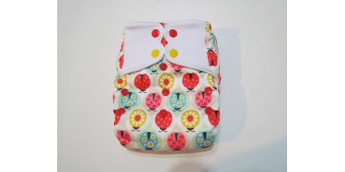 Elf diaper- Tout-en-un- coccinelle-snap