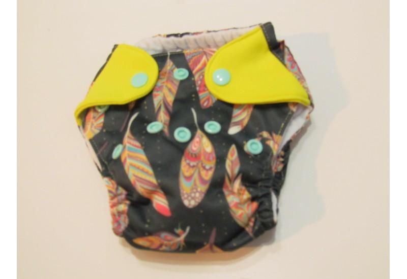Elf diaper- couche Nouveau-né-5-14 livres- Plume