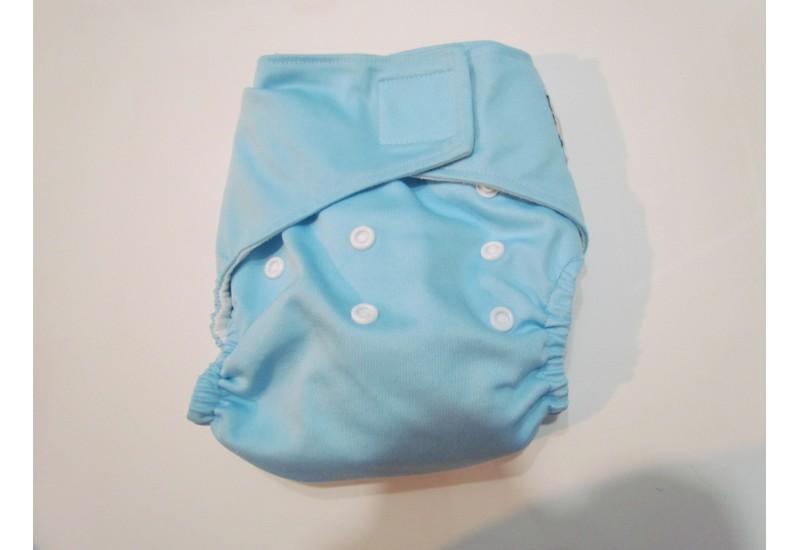 Kawaii baby-bleu-velcro