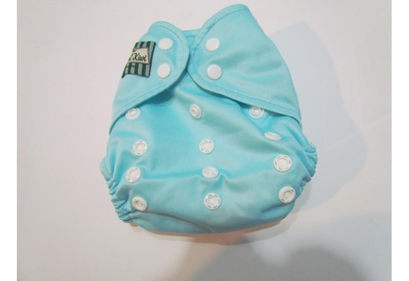 Couche Mini Kiwi à poche - bleu pâle-nouvelle génération-snap- utilisé quelques mois