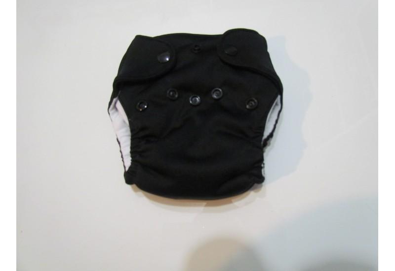 Elf diaper- couche Nouveau-né- 5-14 livres-noir