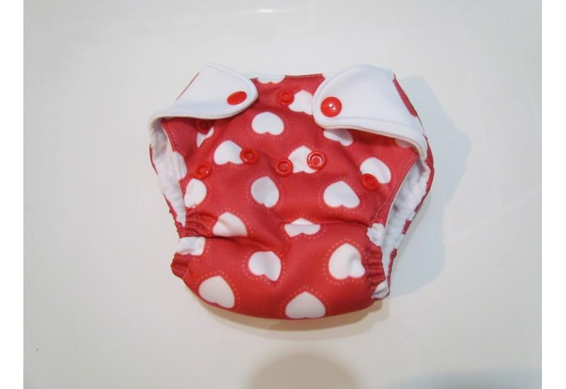 Elf diaper- couche Nouveau-né-5-14 livres- coeur