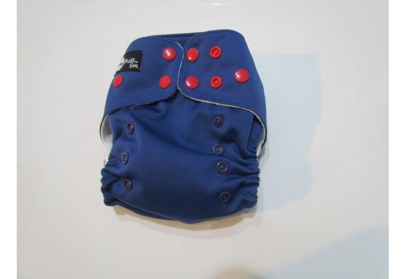 Funky fluff  lux- bleu snap rouge