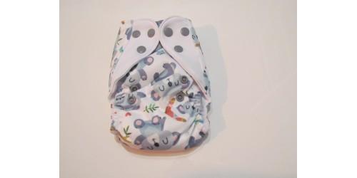 Elf diaper- couche Nouveau-né- 8-20 livres-koala