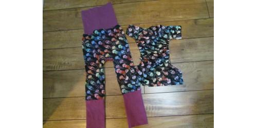 Duo pantalon et couche- méduse