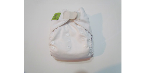 Couche Mini Kiwi à poche -blanche-velcro