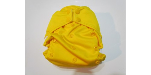 Couche Rumparooz- jaune foncé- Snap