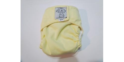 Bic et Biquette NOUVEAU-NÉ-jaune pâle-velcro