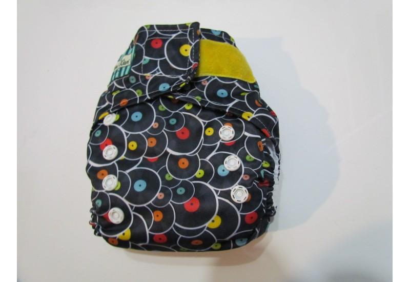 Couche Mini Kiwi à poche - disque-nouvelle génération-velcro-utilisé quelques fois