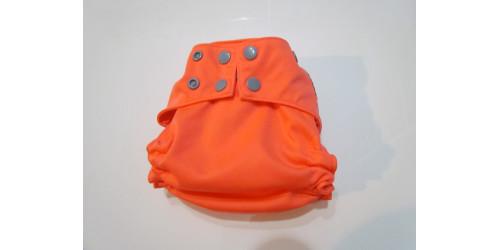 La Petite Ourse- couche tout-en-2- snap-orange