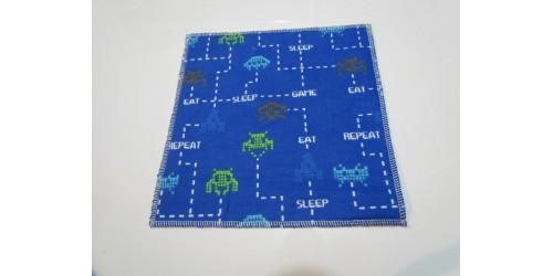 Lingette double épaisseur 8x8- La magie de Crystal- Pac Man