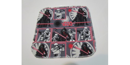 Lingette Bébé Nana- Moyen 9x9- Star Wars